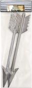 """Stamped Metal Arrows 2/Pkg 9""""X1.5"""""""