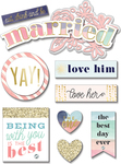 Married - Soft Spoken Themed Embellishments