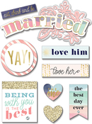 Married - Soft Spoken Themed Embellishments