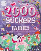 2000 Stickers Fairies - Parragon