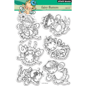 "Fairy Flutters - Penny Black Clear Stamps 5""X7"""