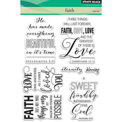 "Faith - Penny Black Clear Stamps 5""X7"""