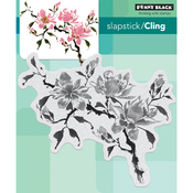 "Magnolia Rhapsody - Penny Black Cling Stamps 5""X7"""