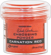 Carnation Red - Wendy Vecchi Embossing Powder .63oz
