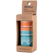 Lace - Decorative Washi Tape Assorted Widths 5m 4/Pkg