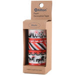Amusement Park - Decorative Washi Tape Assorted Widths 5m 4/Pkg