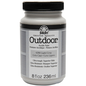 Light Gray - FolkArt Outdoor Paint 8oz