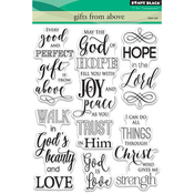 "Gifts From Above - Penny Black Clear Stamps 5""X7"""