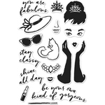 """You Are Fabulous - Hero Arts Clear Stamps 4""""X6"""""""