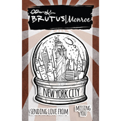 "City Sidewalks - New York City - Brutus Monroe Clear Stamps 3""X4"""
