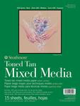 "Strathmore Toned Mixed Media Paper - Toned Tan 9""X12"""