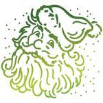 Santa - Ultimate Crafts Look Like Christmas Hotfoil Stamp