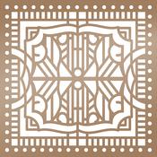 """Architecture - Ultimate Crafts The Ritz Stencil 6""""X6"""""""