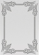 "Classy Frame - Ultimate Crafts The Ritz Embossing Folder 5""X7"""