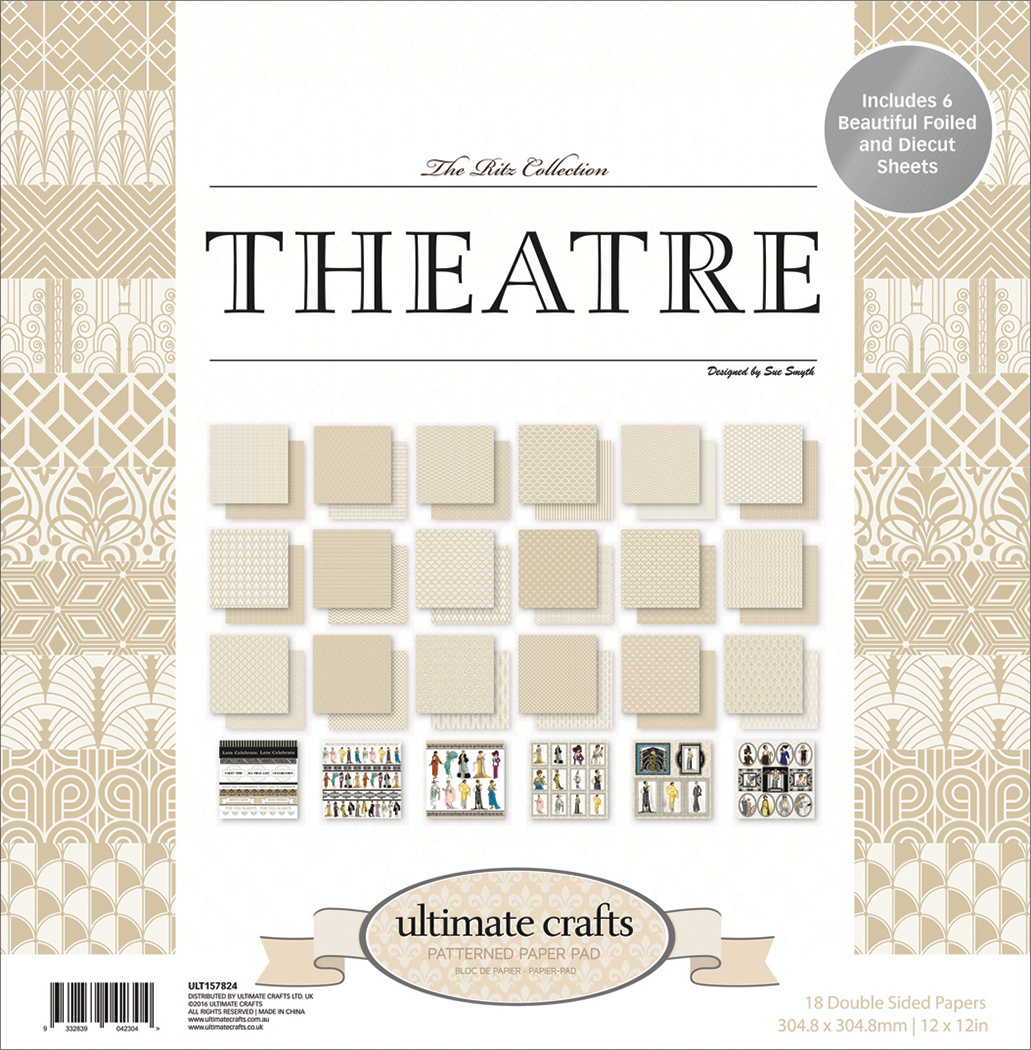 The Ritz Theatre - Ultimate Crafts Double-Sided Paper Pad 12