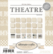"The Ritz Theatre - Ultimate Crafts Double-Sided Paper Pad 6""X6"" 24/Pkg"