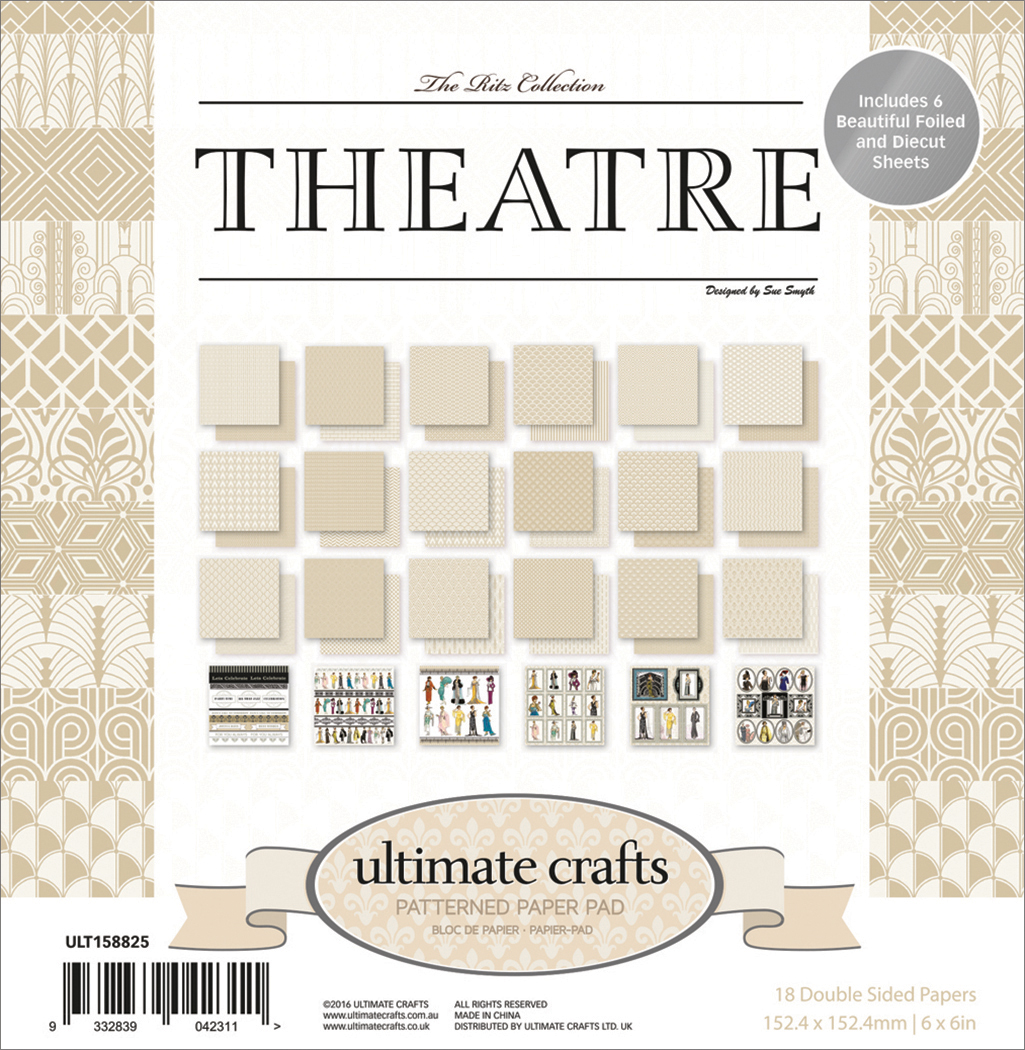 The Ritz Theatre - Ultimate Crafts Double-Sided Paper Pad 6