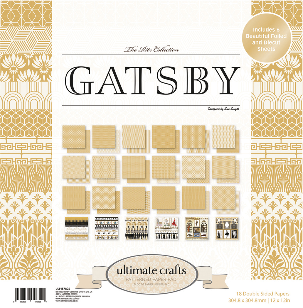 The Ritz Gatsby - Ultimate Crafts Double-Sided Paper Pad 12