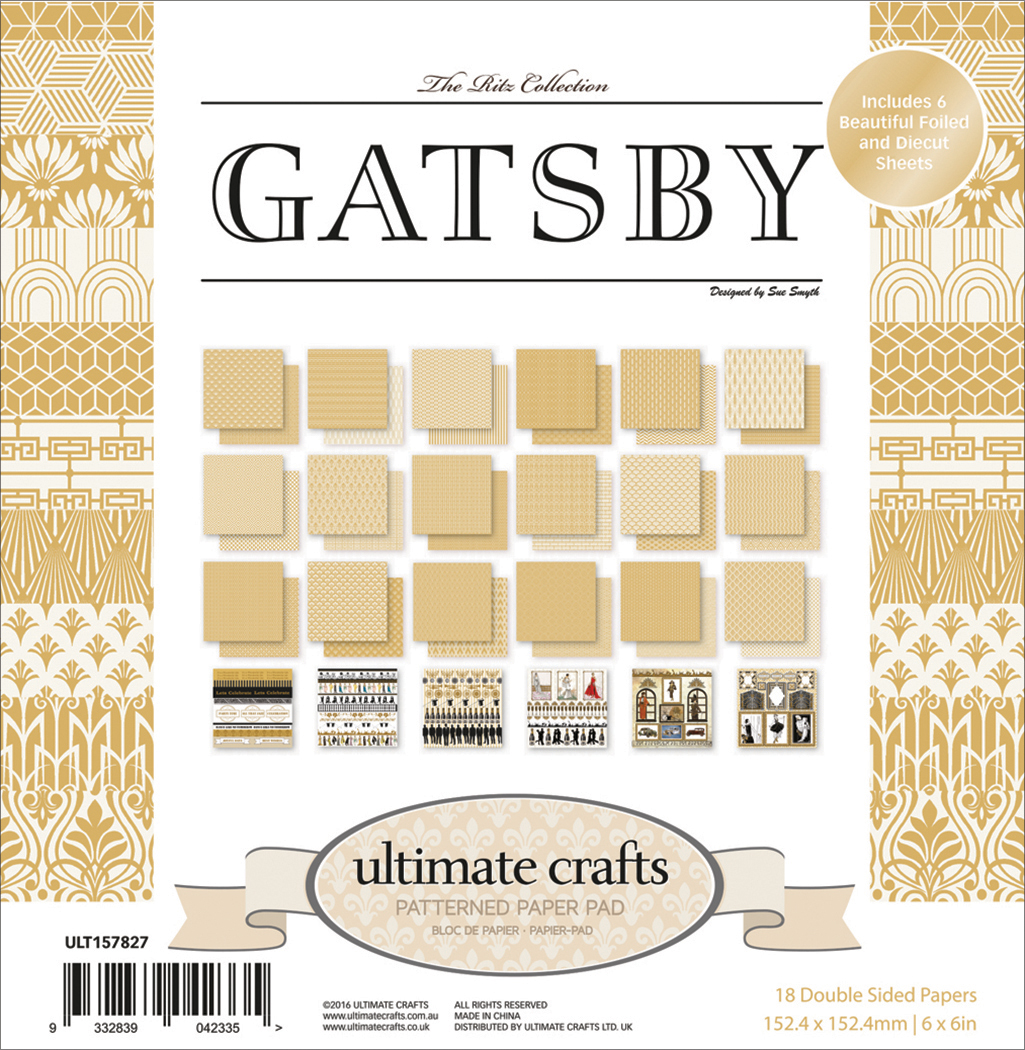 The Ritz Gatsby - Ultimate Crafts Double-Sided Paper Pad 6