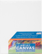 "8""X10"" - Pro Art Stretched Artist Canvas Twin Pack 2/Pkg"
