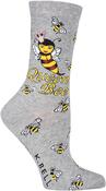 Queen Bee - Novelty Crew Socks