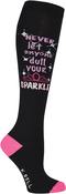 Sparkle - Novelty Knee High Socks