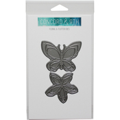 "Floral & Flutter 2.25"" To 2.75"" - Concord & 9th Dies"