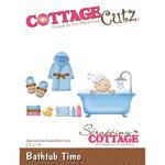 """Bathtub Time 2.2""""X1.8"""" - Cottagecutz Die"""