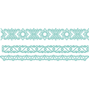 "Sari Borders 1.75""X5.75"" - Kaisercraft Decorative Die"