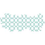 "Sari Texture 4.75""X2"" - Kaisercraft Decorative Die"