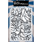"""Rose Garden - Brutus Monroe Clear Stamps 4""""X6"""""""