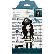 Piracy - Gorjuss Santoro Rubber Stamp