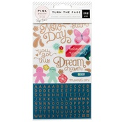 Turn The Page Sticker Book - Pink Paislee