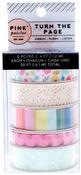 Turn The Page Ribbon Set - Pink Paislee