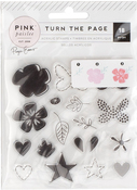 Turn The Page Acrylic Stamp Set - Pink Paislee