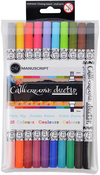 Manuscript Callicreative Duo Tip Twin Color Pens 10/Pkg