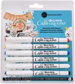 Assorted - Manuscript Crafter Callicreative Markers 6/Pkg
