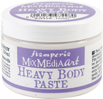 White - Stamperia Heavy Body Paste 150ml