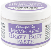 White - Stamperia Heavy Body Paste 150ml