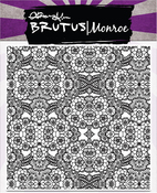 """Floral Lace Background - Brutus Monroe Clear Stamps 5.75""""X5.75"""""""