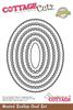 Scallop Oval - CottageCutz Nested Dies 5/Pkg
