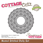 Stitched Doily - CottageCutz Nested Dies 3/Pkg