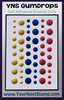 Circus Fun Matte - Your Next Stamp Gumdrops Embellishments 54/Pkg