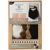 "7""X8.5"" - Bucilla Weave It N' Leave It Rectangle Loom Starter Kit"