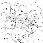 """Constellations - Crafter's Workshop Template 12""""X12"""""""