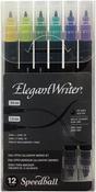 Assorted Colors - Speedball Elegant Writer Calligraphy Dual Tip Marker Set