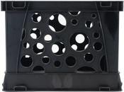"Black - Micro Crate 6.75""X5.8""X4.8"" 1/Pkg"