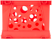 """Red - Micro Crate 6.75""""X5.8""""X4.8"""" 1/Pkg"""