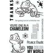 "One In A Chameleon - Your Next Stamp Clear Stamps 4""X6"""