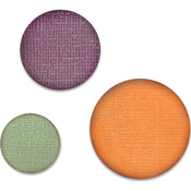 """Circles, .75"""", 1"""", 1.25"""" - Sizzix Paper Punch Bundle"""